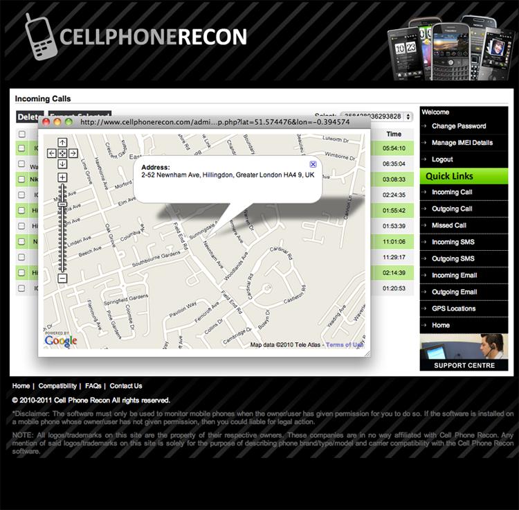 mobile phone text spy uk ios